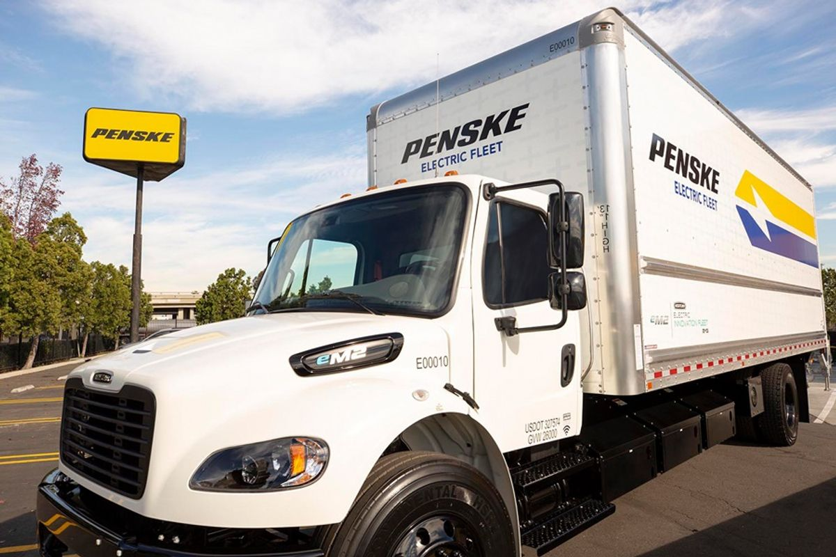 Penske Truck Leasing to Highlight Electric Trucks at EEI 2019 Conference