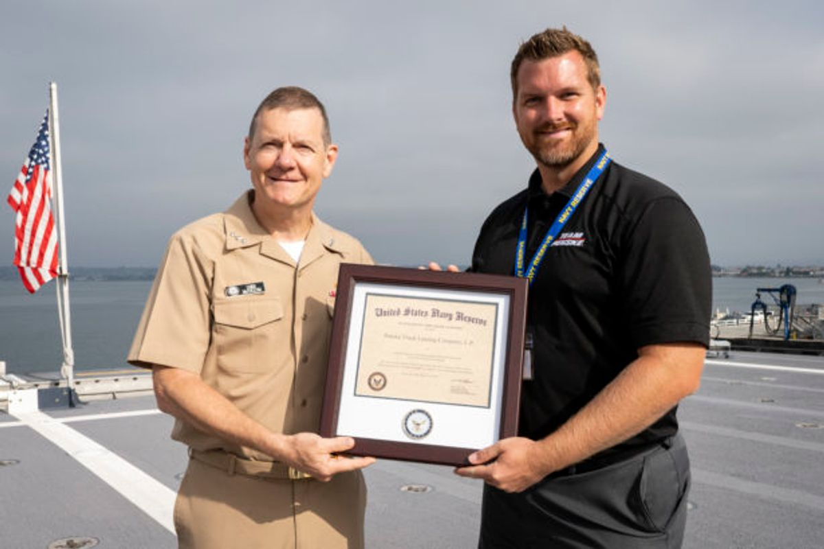 Penske Recognized as a Top Employer by US Navy Reserves