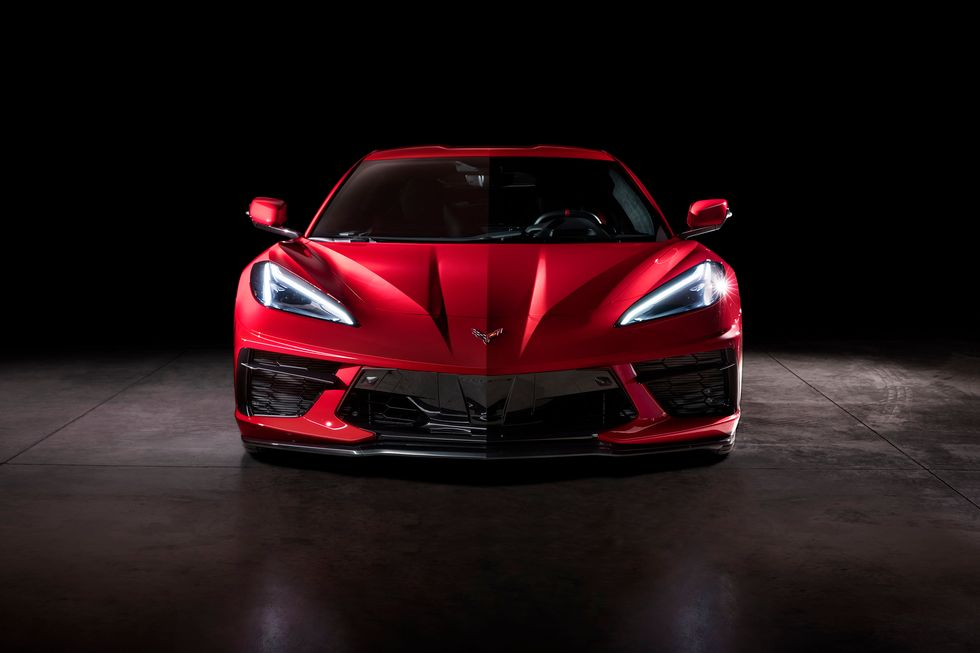 2020 Chevrolet Corvette Stingray VIN 001