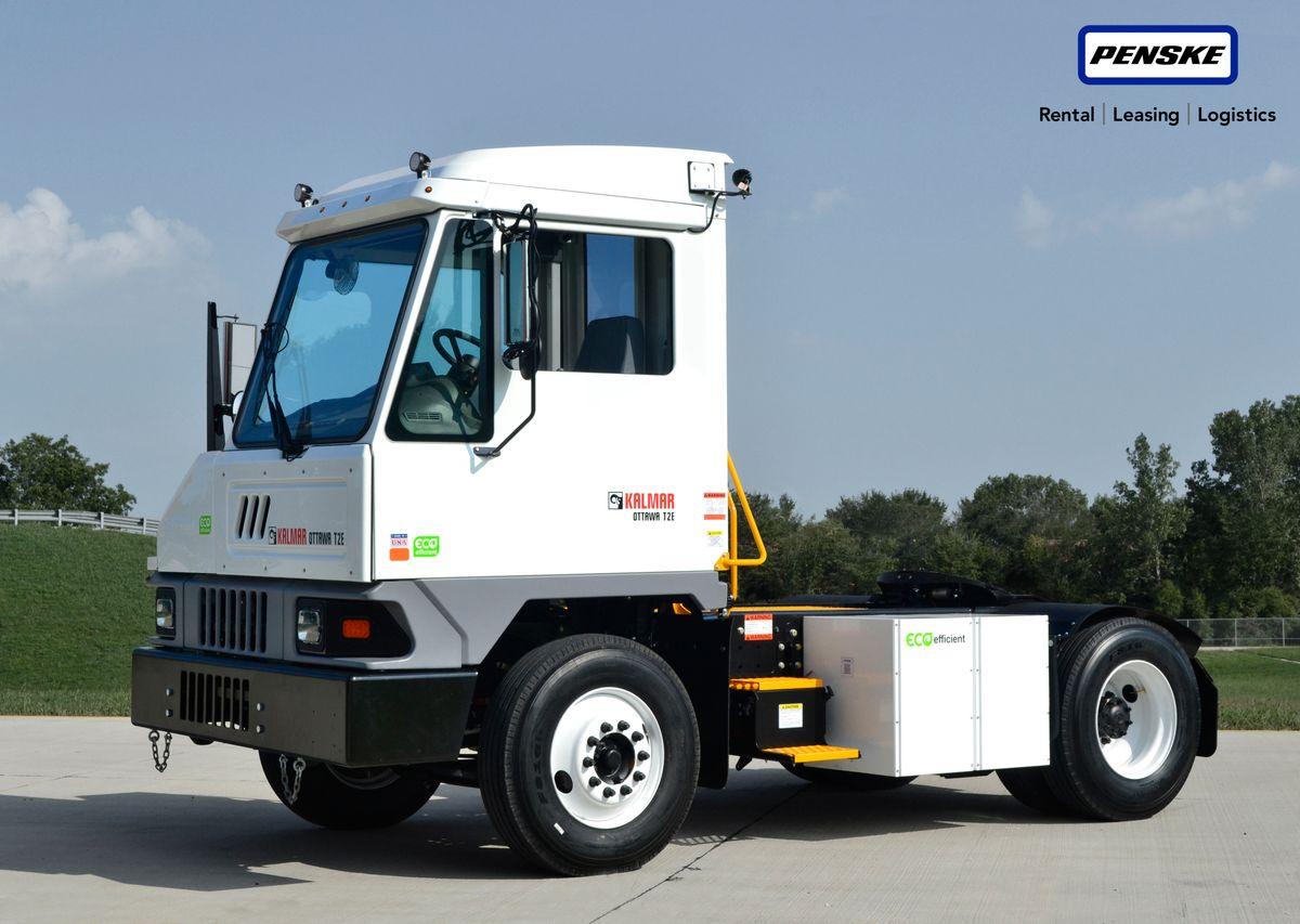 Penske Truck Leasing Adds Kalmar Ottawa Electric Terminal Tractor to its EV Fleet