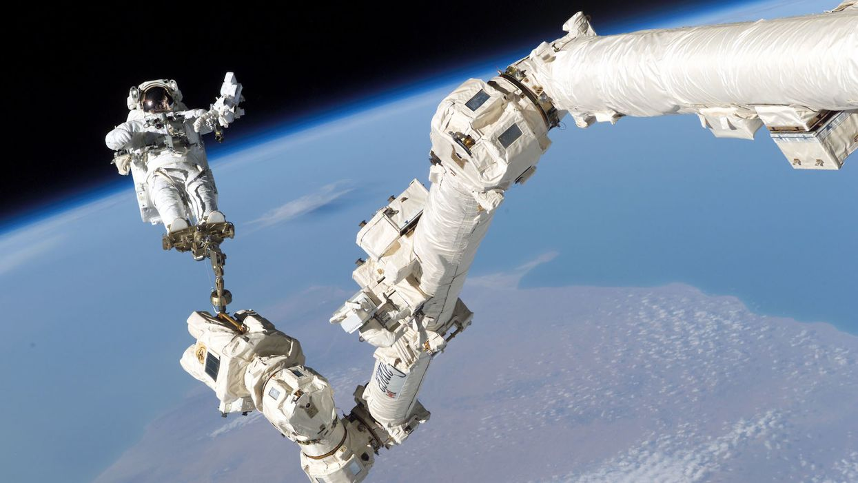 First all-female spacewalk back on for this week after earlier cancellation over spacesuit sizes