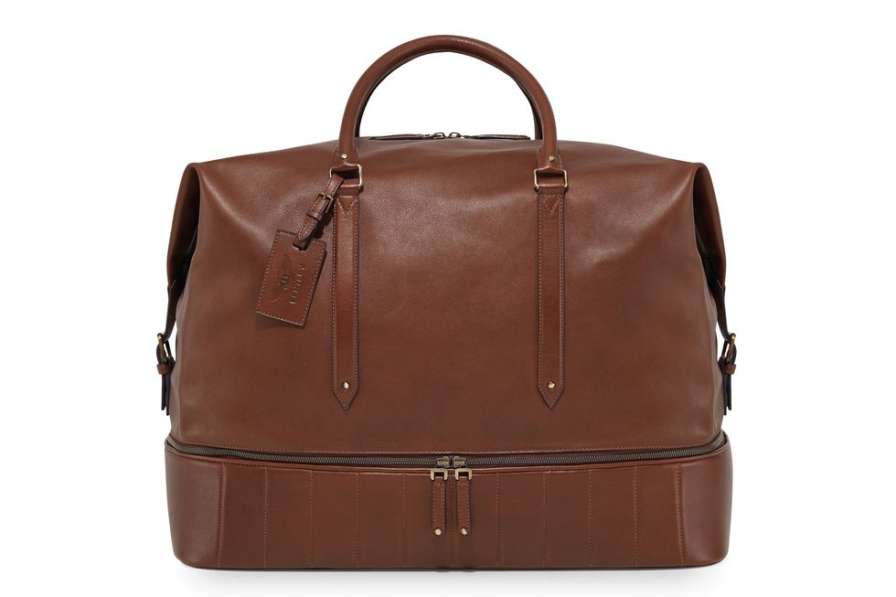 Heritage Leather Holdall The Bentley Collection