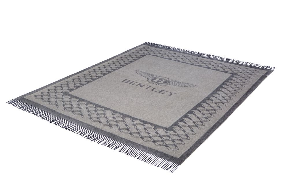 Bentley Collection lambswool blanket