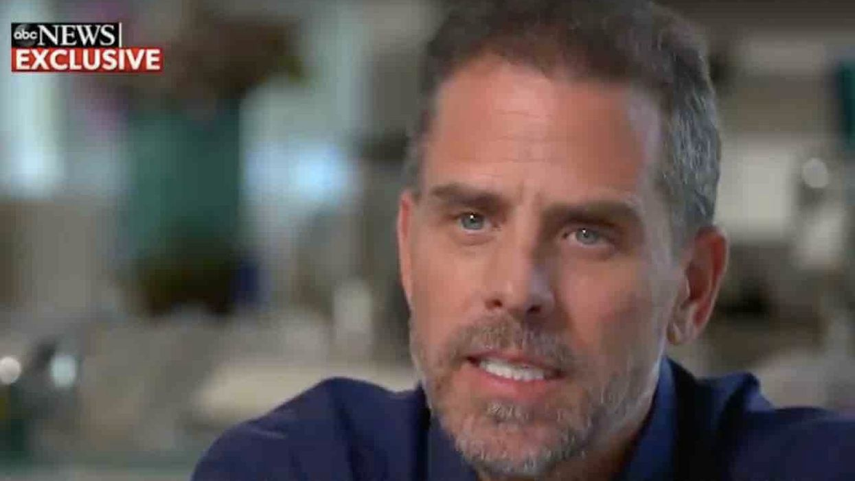 Hunter Biden glares at interviewer, orders her to 'say it nicer to me' after she notes he was 'in and out of rehab 7, 8 times'