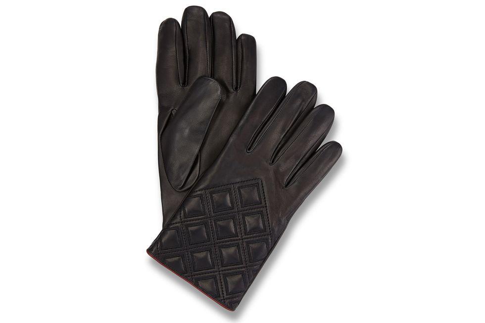 Ladies Diamond Pattern Gloves Bentley Collection