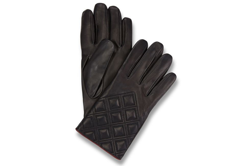 Ladies Diamond Pattern Gloves Bentley Collection