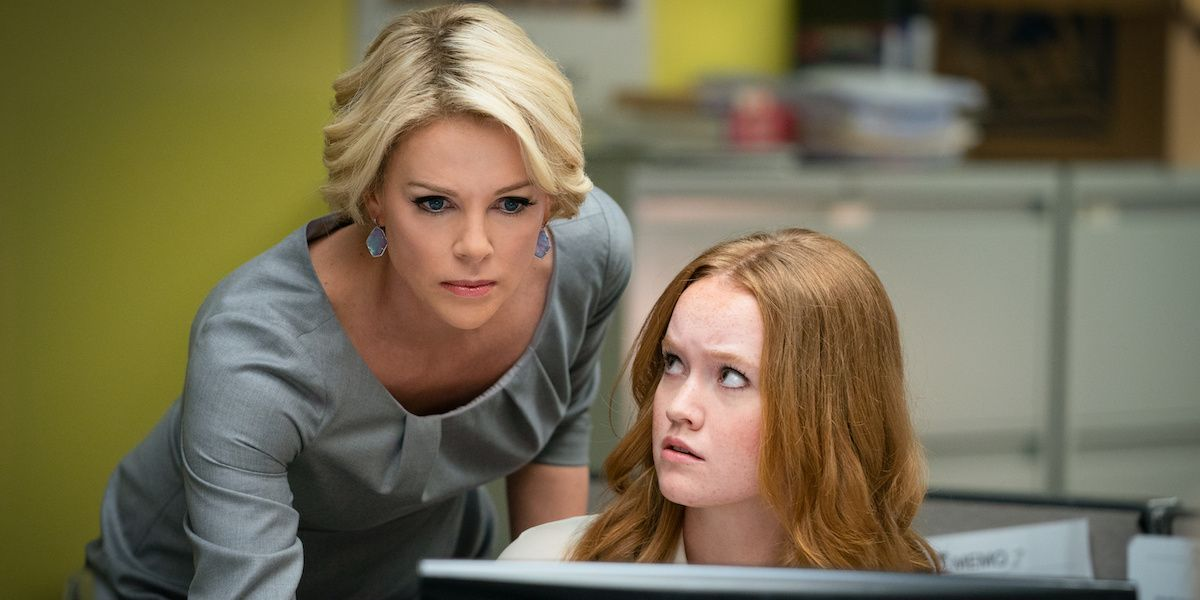 "Charlize Theron's Megyn Kelly Is Accused Of ""Anger Menstruating"" In New 'Bombshel​l' Trailer"