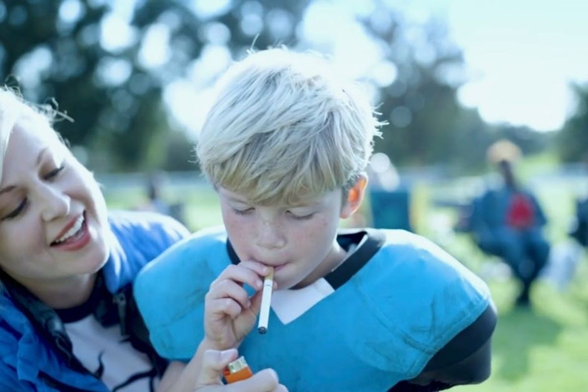 A new PSA smartly reveals just how dangeroustackle football is for kids