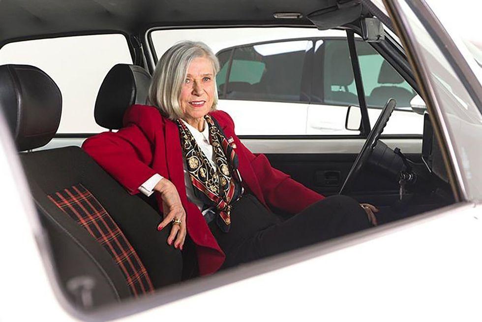 Gunhild Liljequist Volkswagen Clark Plaid