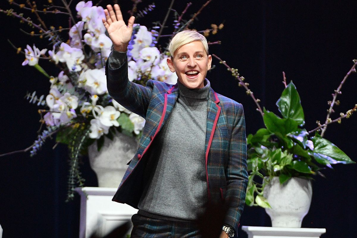 Ellen DeGeneres Once Gave The Trumps a Gold Chandelier Stroller