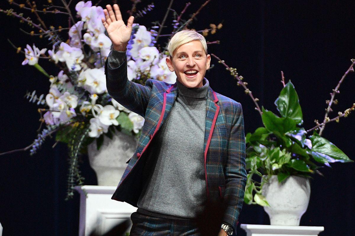 Ellen DeGeneres Once Gave The Trumps a Gold Chandelier Stroller