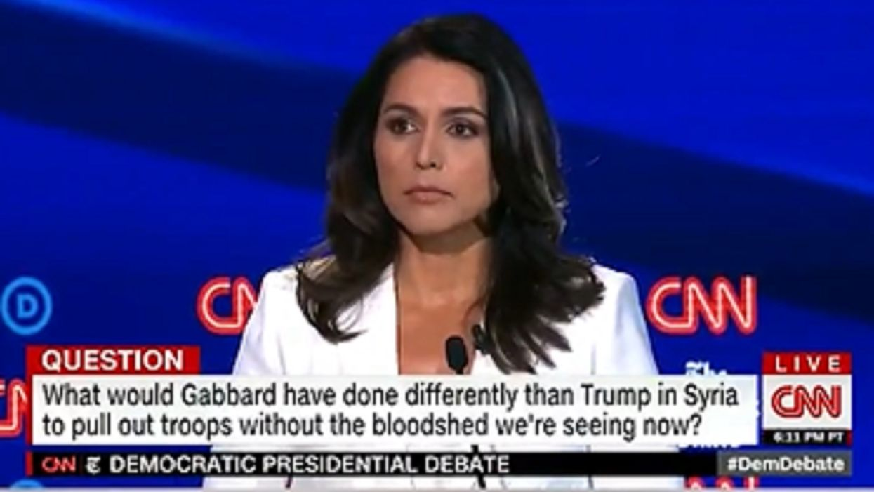 'Completely despicable': Tulsi Gabbard drags debate hosts CNN and The New York Times on their own turf