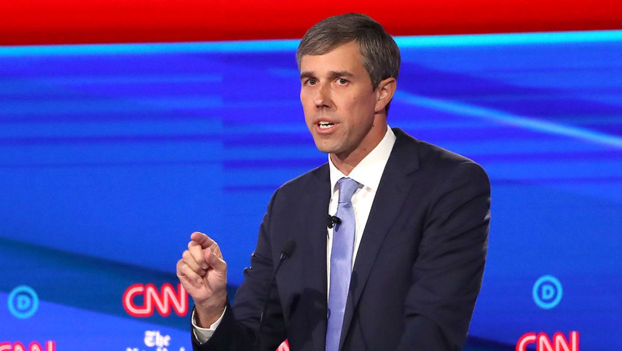 Beto O'Rourke offers ominously vague response when confronted about gun confiscation plan