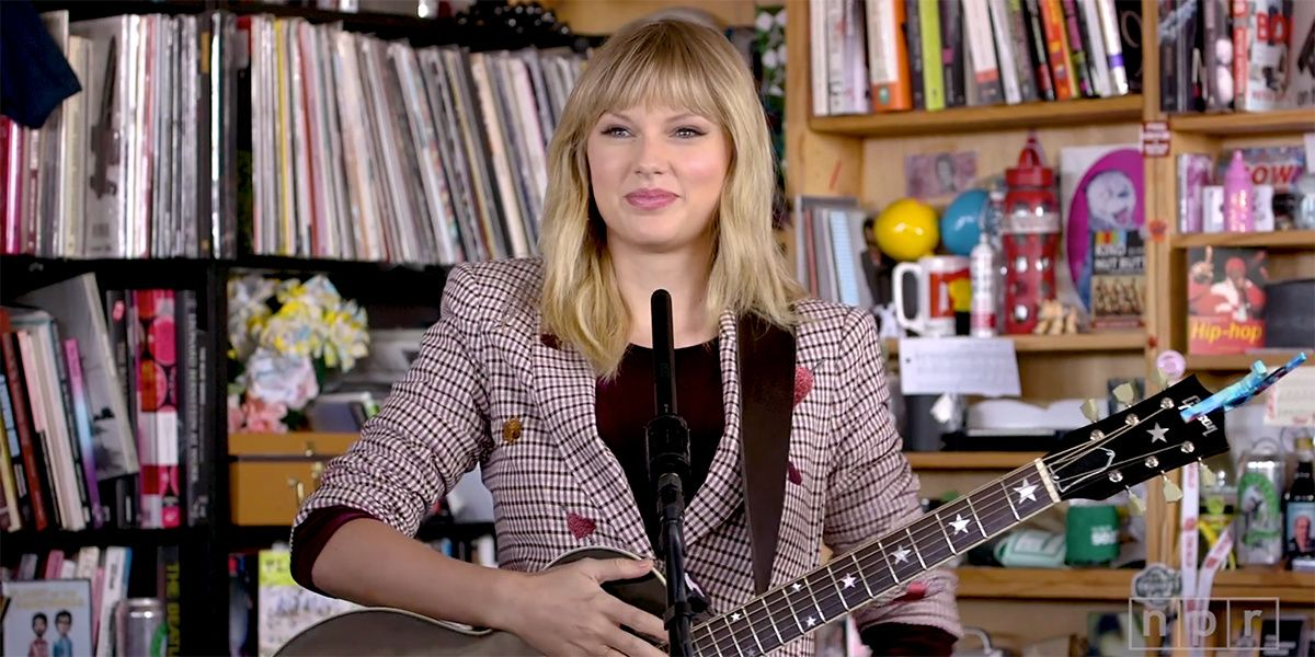 Taylor Swift Surprised Fans With A 'Red' Favorite During Her NPR Tiny Desk
