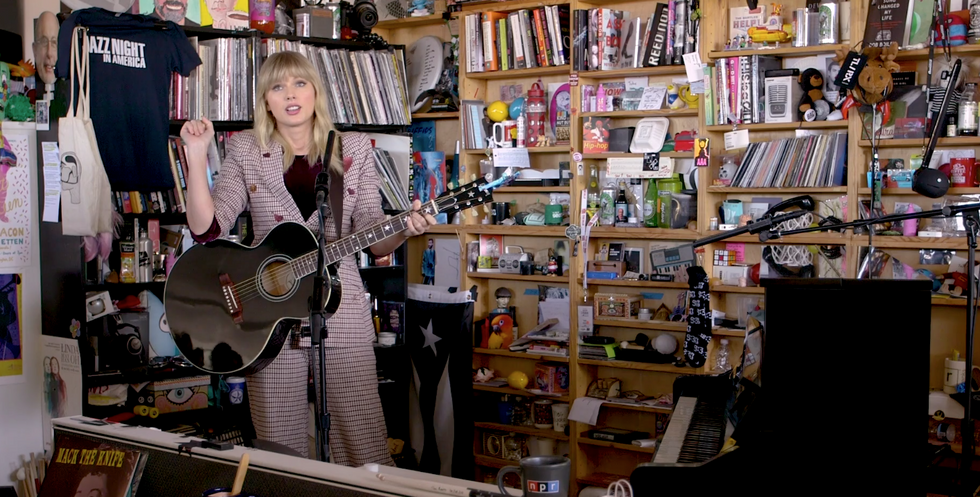 13 Reasons Taylor Swift Playing On NPR's Tiny Desk Is A Huge Deal To Real Fans