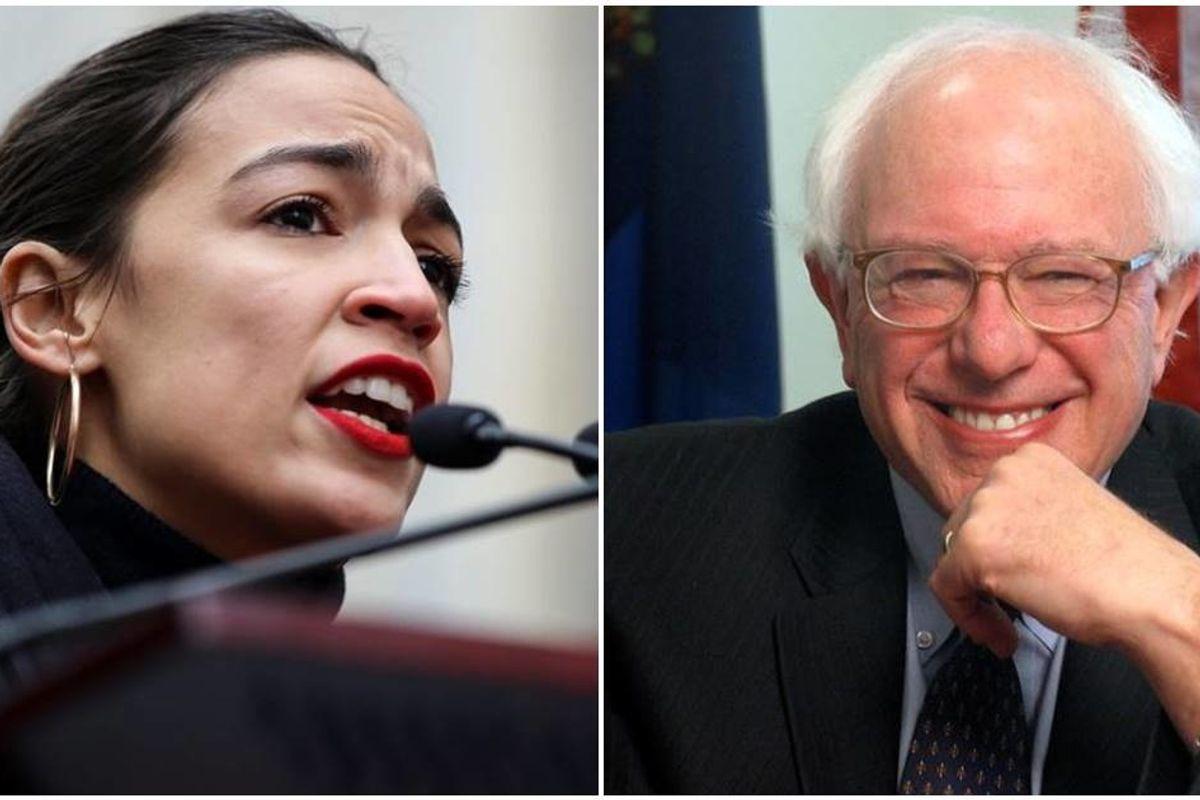 Alexandria Ocasio-Cortez just endorsed Bernie Sanders for president