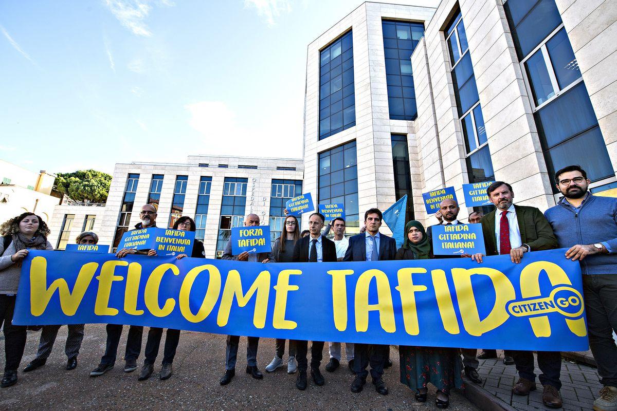 Ora Tafida è al Gaslini: «In Italia abbiamo trovato la speranza»
