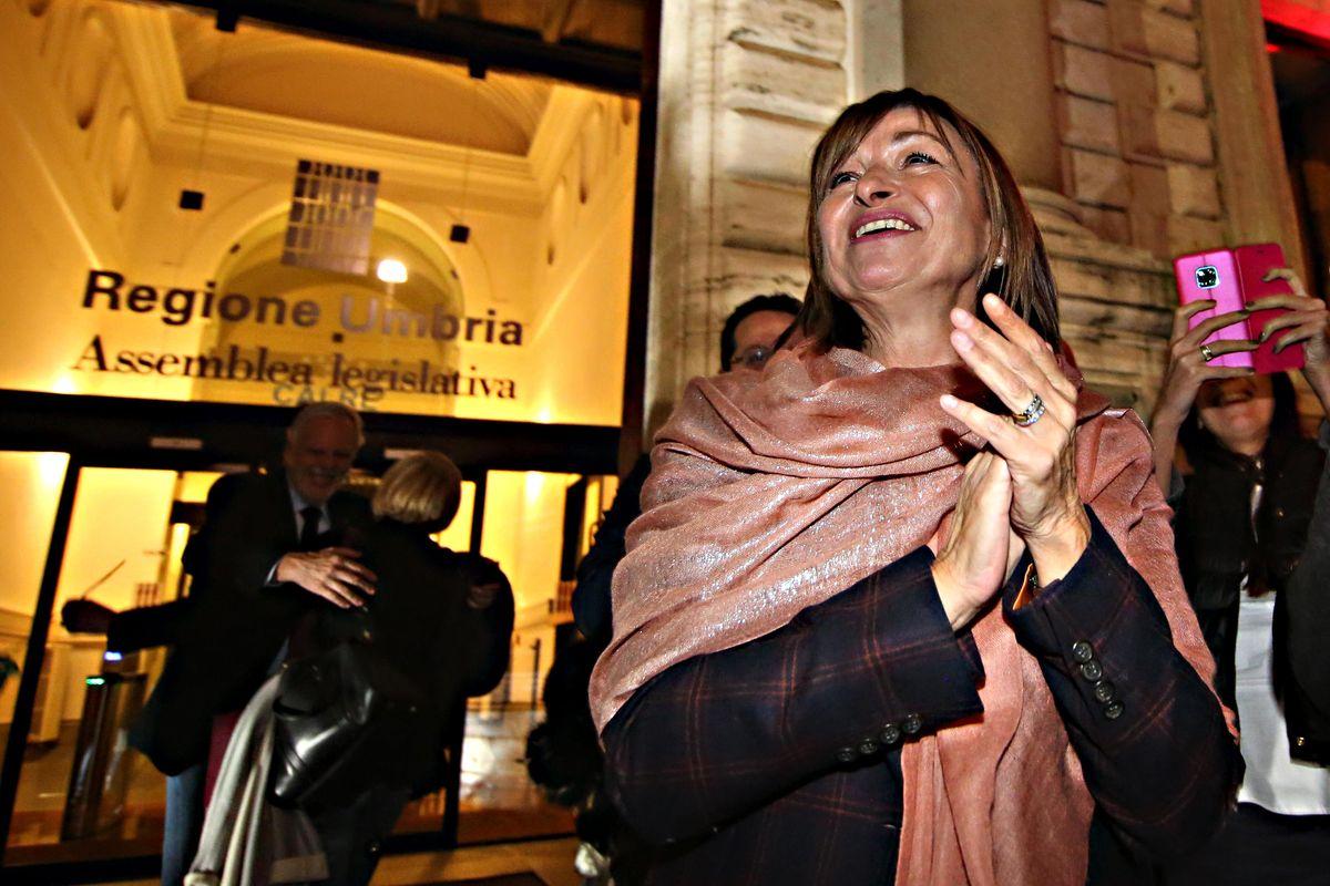 «Trionfa il coraggio di cambiare Conte non sottovaluti l'Umbria»