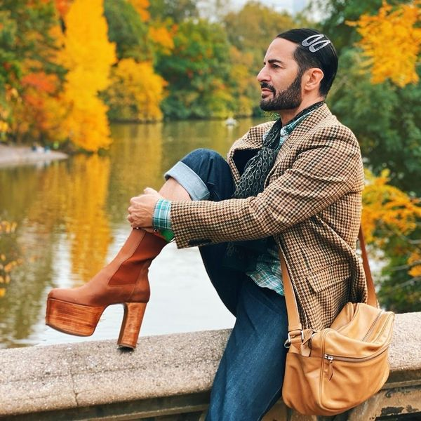 Marc Jacobs' Hiking Boots Are Towering Platform Heels