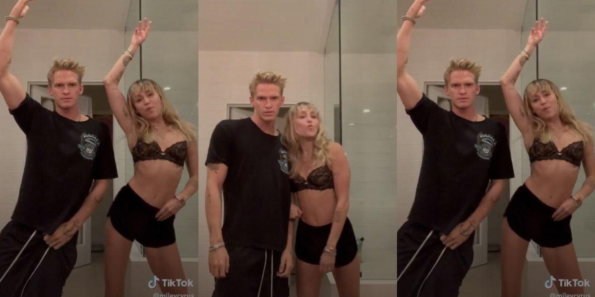Miley Cyrus Made a TikTok to Ashnikko With Cody Simpson