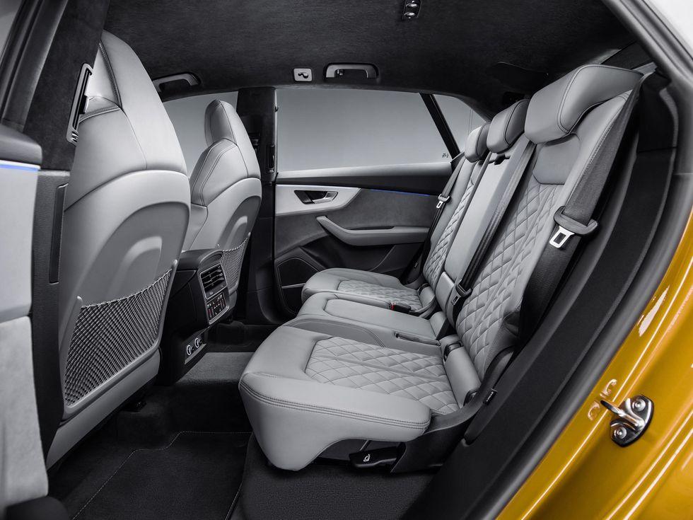 2019 Audi Q8 interior seats back rear8