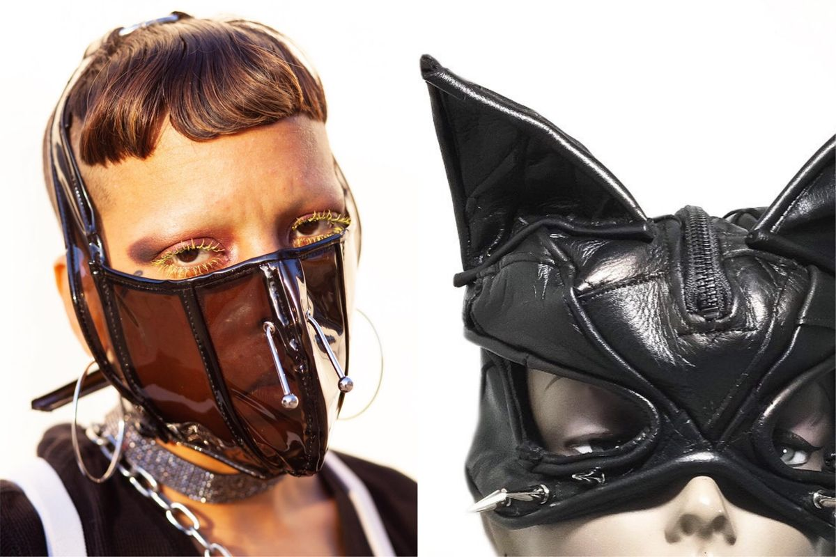 These Halloween Masks Are Inspired by a Fetish Meat Market