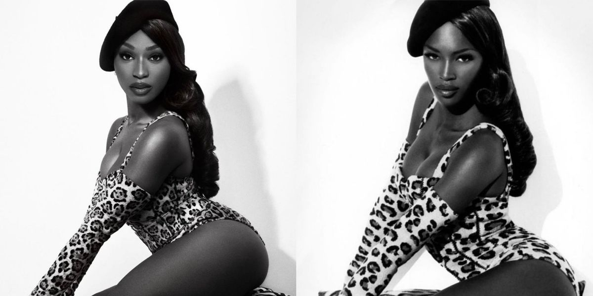 Normani Recreates Iconic Naomi Campbell Photo for Halloween