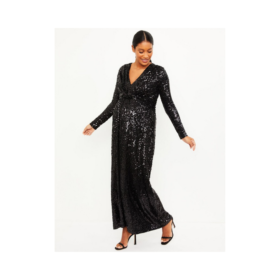 Pietro Brunelli Sequin Maternity Dress