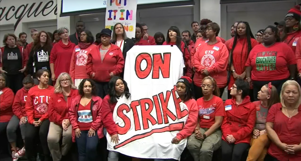 Chicago Teachers Are Striking For More Than Just Higher Pay