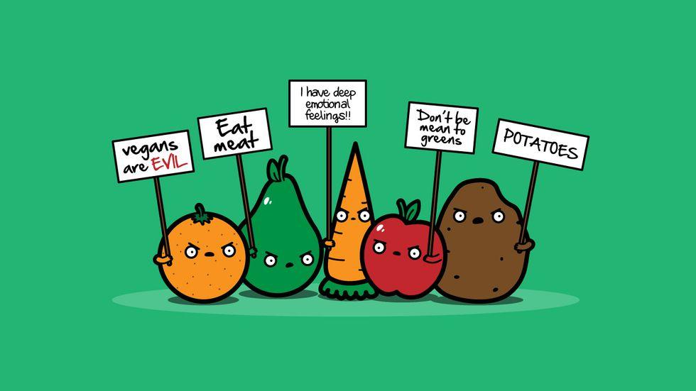 mitos falsos veganismo vegetarianismo nutricionista