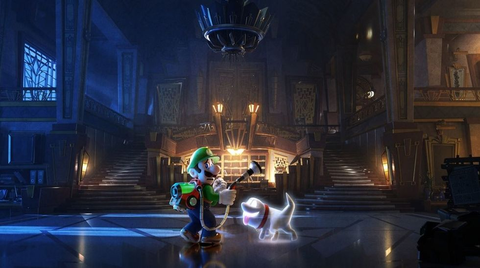 A Perspective On Luigi's Mansion