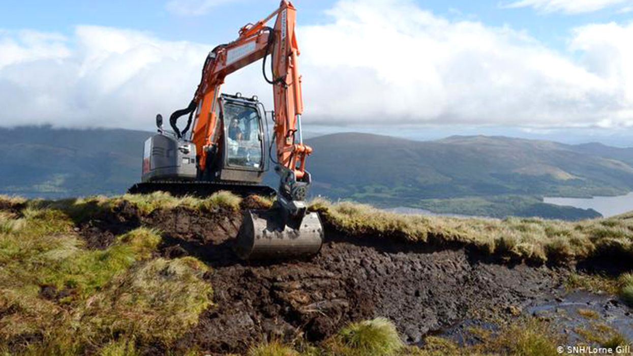 Scotland Restores Its Peatlands to Keep Carbon in the Ground