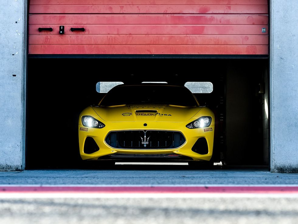 Master Maserati Driving Courses 2019 GT garage