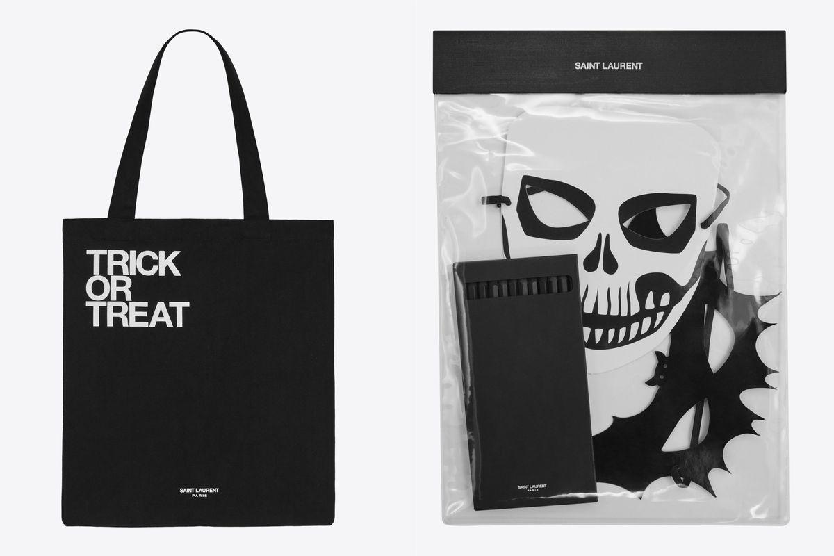 Saint Laurent Rive Droite Unveils Novelty Line of Halloween Goodies