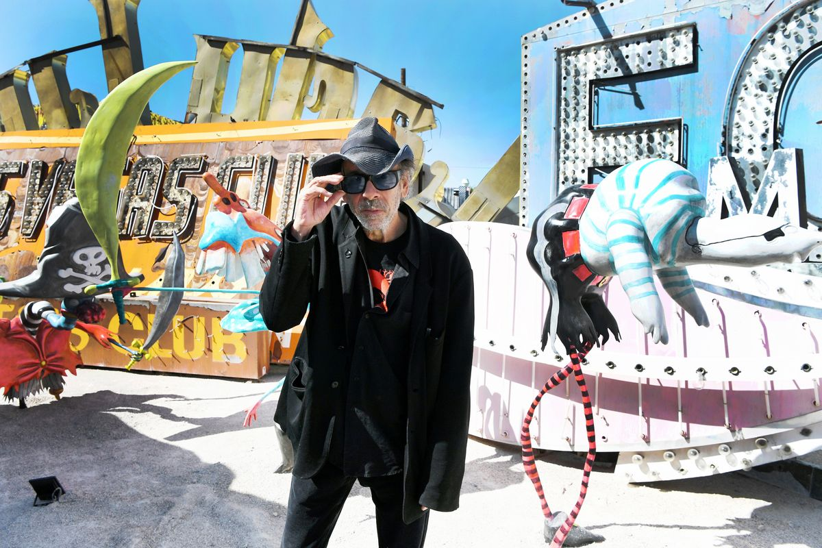 Tim Burton Remembers a Vegas Where Everyday Rules Didn't Apply
