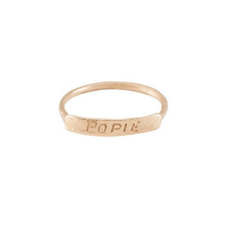 Bague Jane Pope