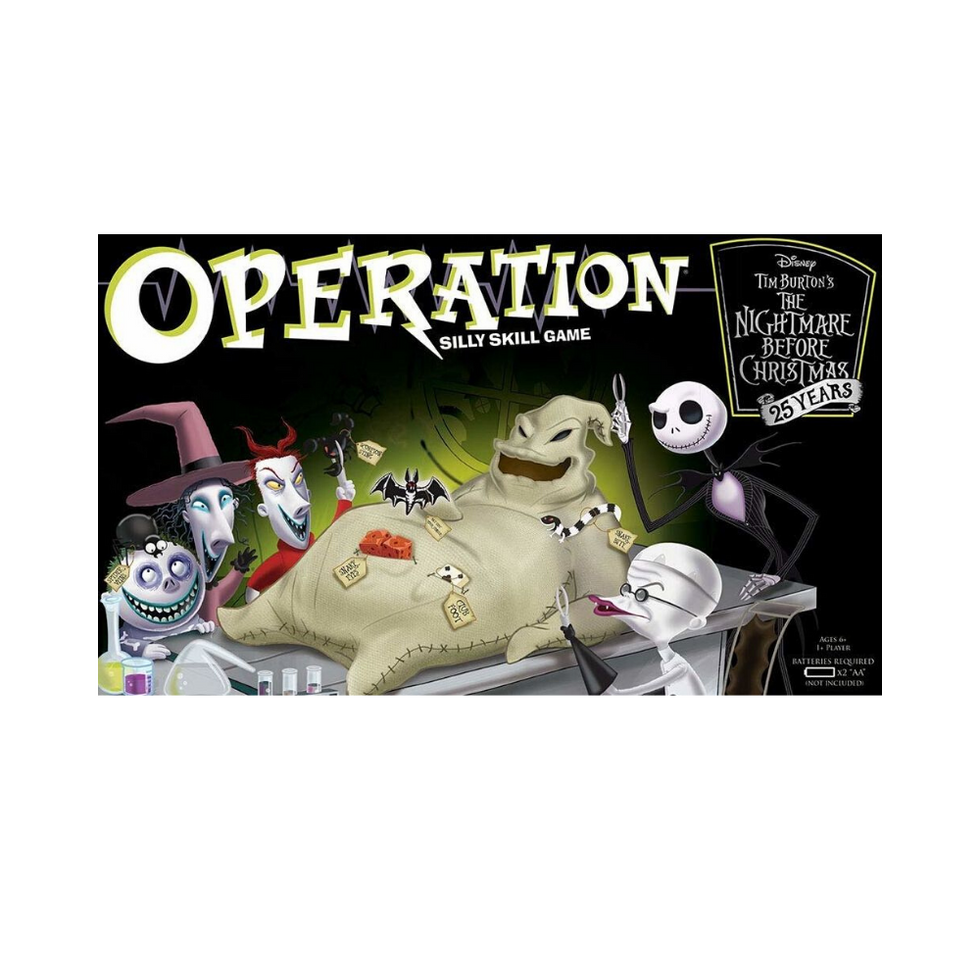 The Nightmare Before Christmas Operation skill game