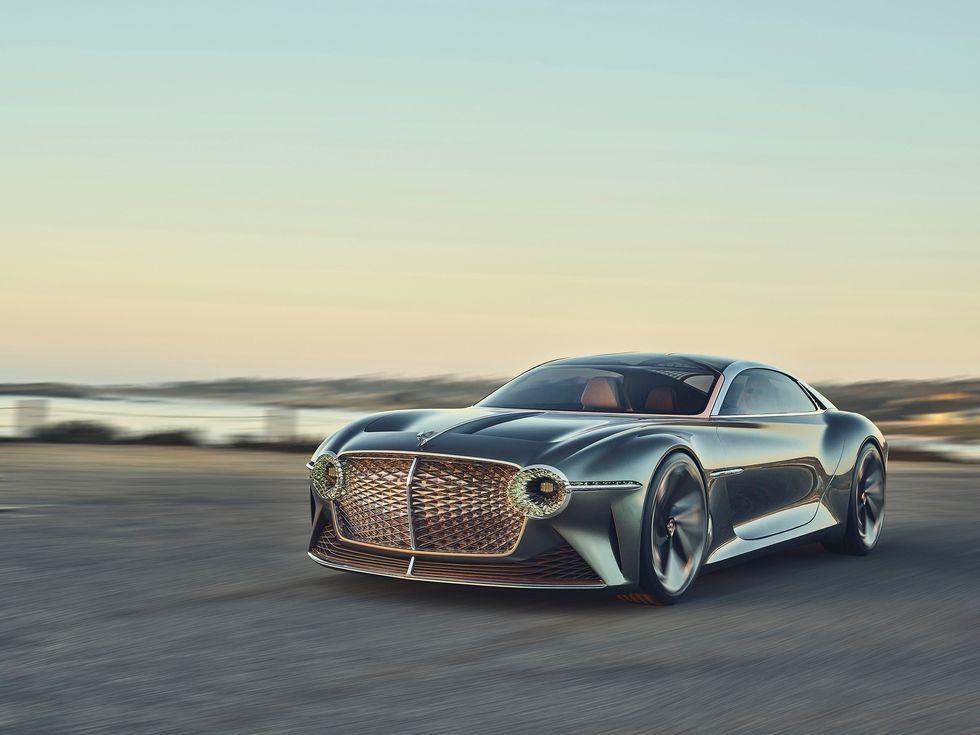 Bentley EXP 100 GT concept car 2020 exterior