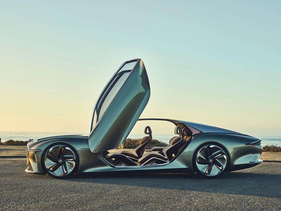 Bentley EXP 100 GT concept car 2020 doors exterior