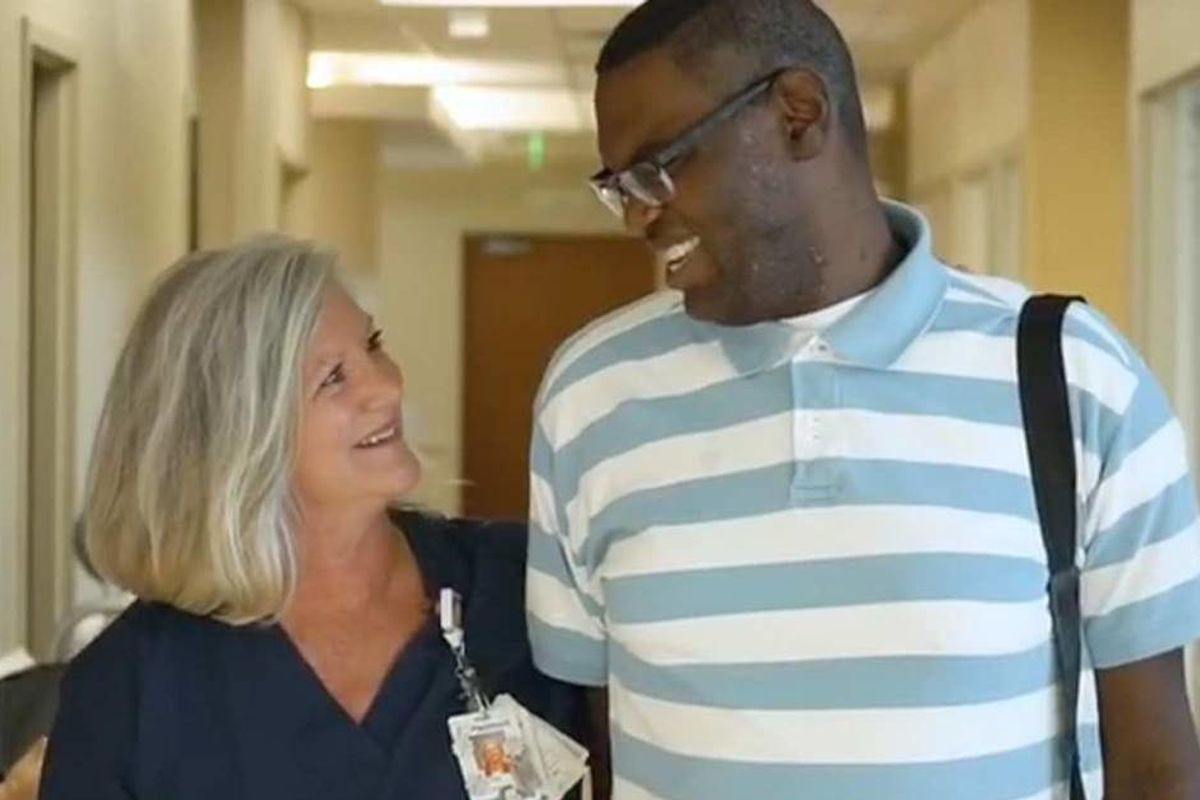 ICU nurse adopts a man with autism so he can have a life-saving heart transplant