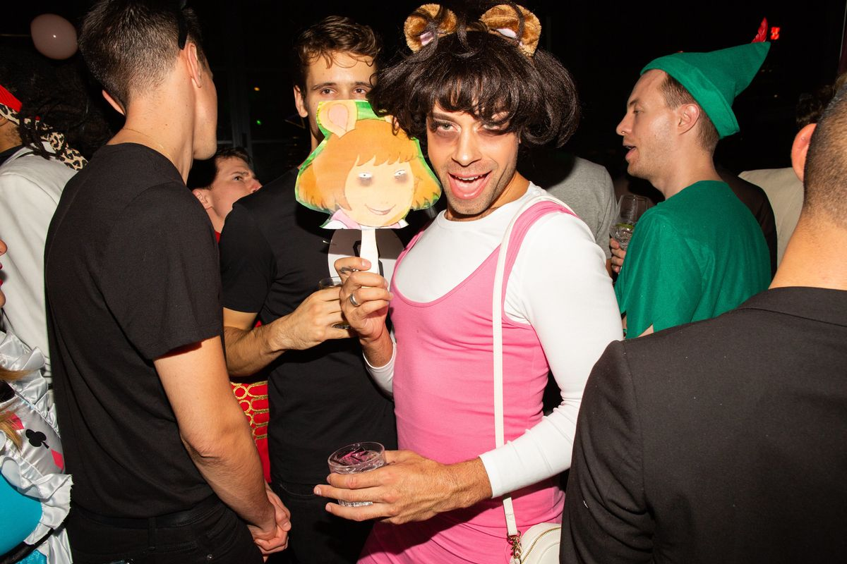 The Misshapes' Halloween Party Was Really That Good
