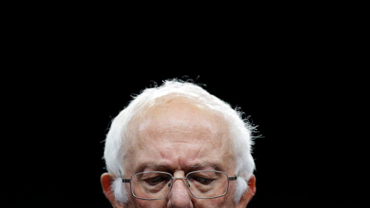 Watch Bernie Sanders deny he is 'far-left.' Will the media fact-check him?
