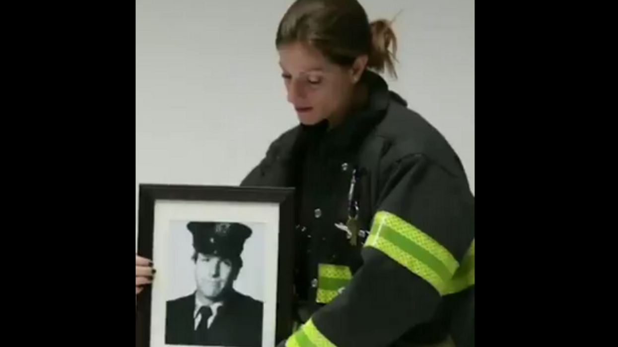 FDNY firefighter runs NYC marathon to honor her late father who died on 9/11