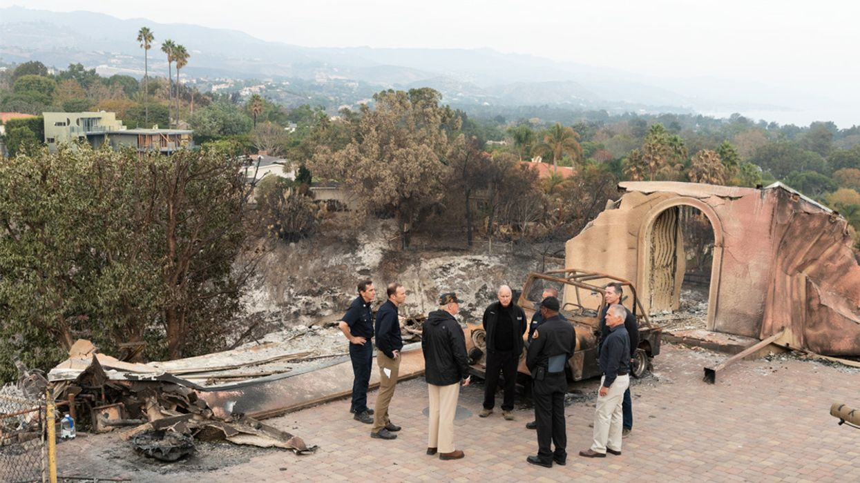 California Burns Because of the Climate Crisis While Trump Undermines Efforts to Help