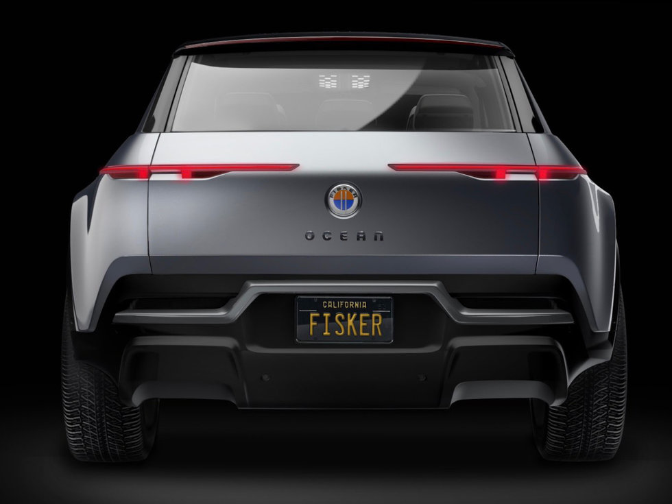 2021 Fisker Ocean SUV EV 2022 Fisker Ocean