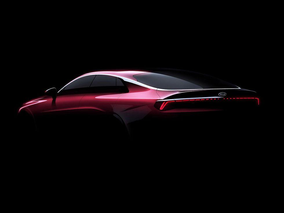 2021 Kia Optima exterior render new