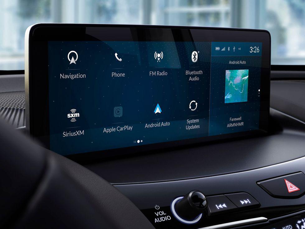 Android Auto 2019 Acura RDX 2020