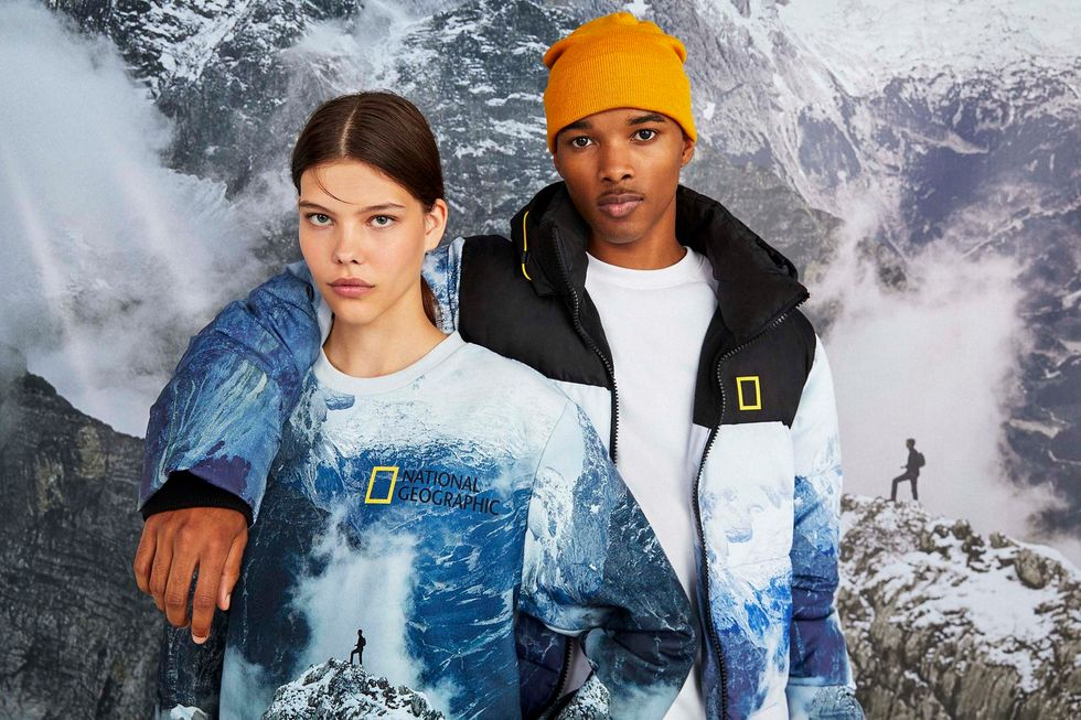 bershka national geographic join the adventure