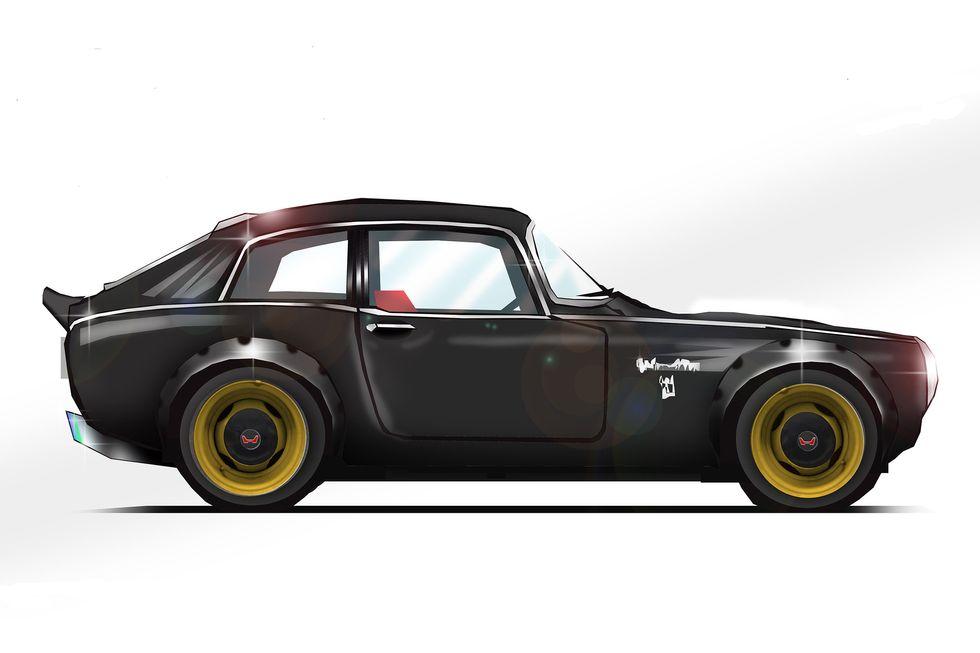 1968 Honda S800 Coupe \u201cOutlaw\u201d