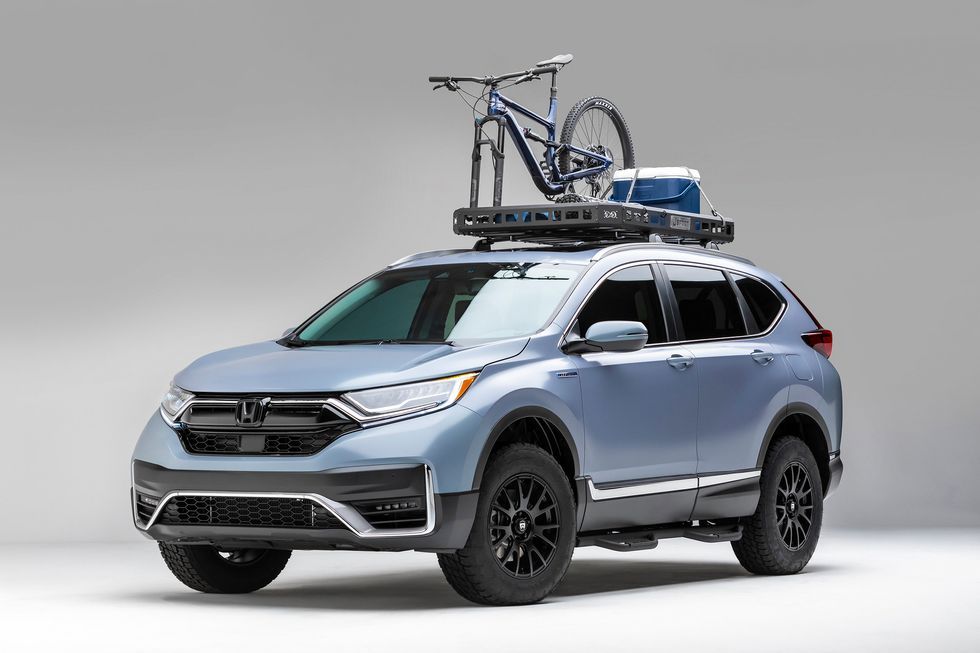 2020 Honda CR-V Hybrid \u201cDo\u201d Build by Jsport Performance Accessories